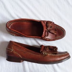 Cole Haan Country Brown Leather Loafer 10